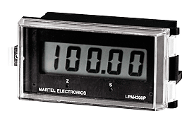 Martel LPM Loop Panel Meter Series
