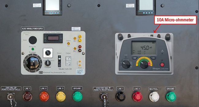 Electrical Test Bench • Motor Test Bench • JM Test Systems
