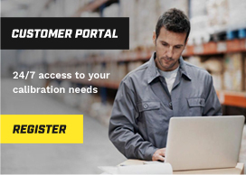 Customer Calibration Portal - Access Calibration Certificates Online