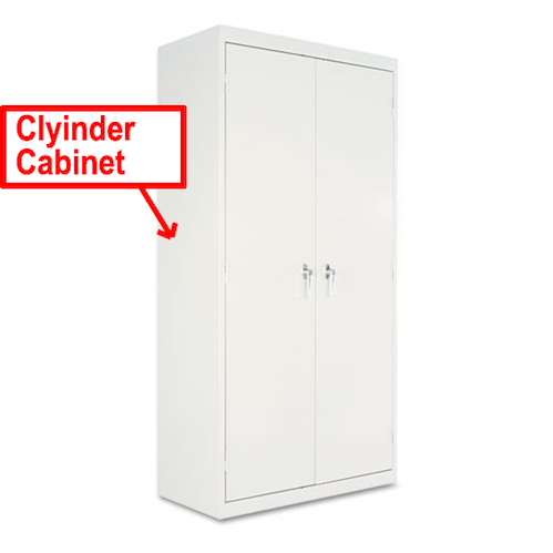 Cylinder Cabinet (For Cylinders Enclosed)