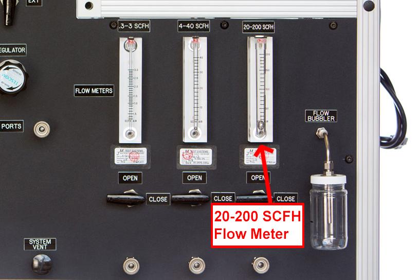 20-200 SCFH Flow Meter