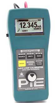 PIE 532 4-20 mA / Voltage Loop Calibrator with Loop Diagnostics