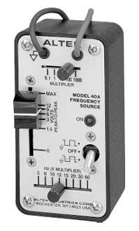 Altek 40A Frequency Source - pocket-sized pulse generator