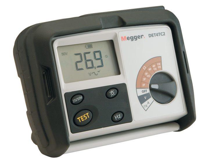 Megger DET4TC2 4 Terminal Ground Resistance Tester