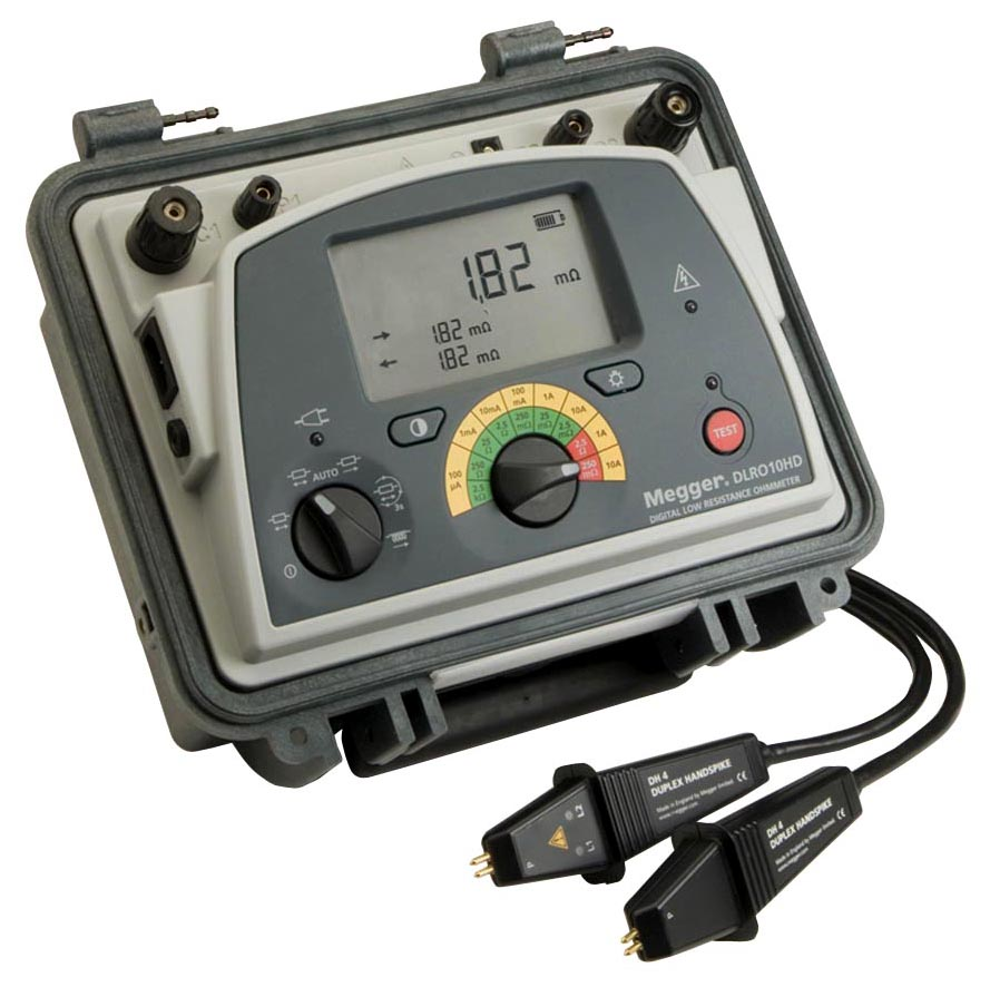 Milli Micro Ohmmeter Or Low Resistance Ohmmeter : Ohmmeter low resistance leads