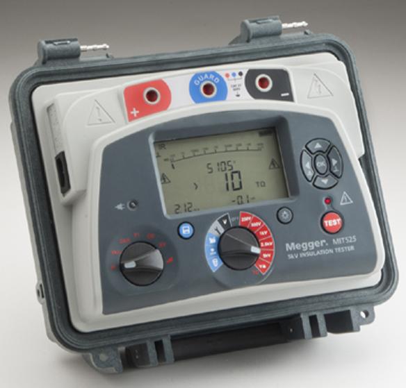 megger mit525 mit1025 insulation resistance tester