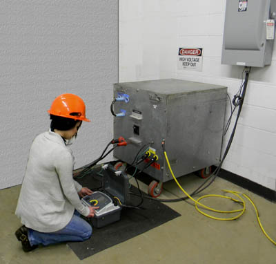 Transformer Testing With A Megger Dlro10hd Jm Test Systems