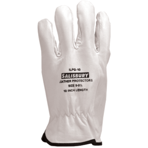 Salisbury ILPG3S Leather Protector Gloves With Straight Cuff