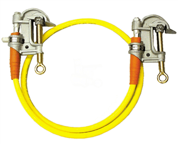 Ground cable parts and clamps