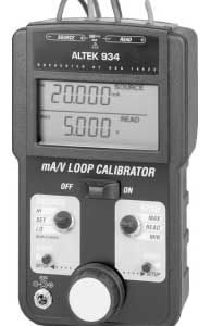 Altek 934 Milliamp & Voltage Loop Calibrator