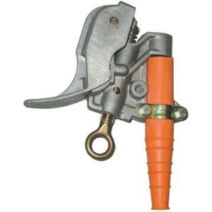 Salisbury 21030 Aluminum Duck Bill Grounding Clamp with Smooth Jaw - Spring Loaded - V Thread
