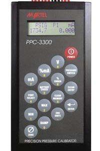 Martel PPC-3300 Dual Pressure Calibrator