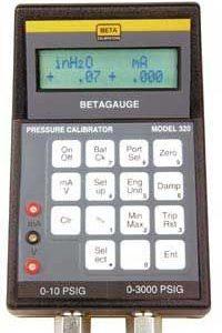 Beta 320 Dual Pressure Calibrator