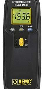 AEMC CA863 Digital Thermometer