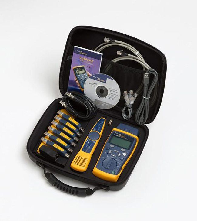 Fluke Network Tester : Fluke networks ciq kit sales rent calibration