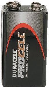 Duracell Procell 12 pack-9 volt batteries