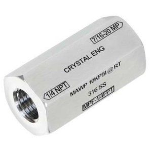Crystal MPF-1/4FPT NPT Female Fitting