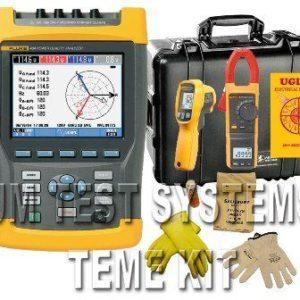 Fluke TEME Kit 435-II Power Quality Analyzer