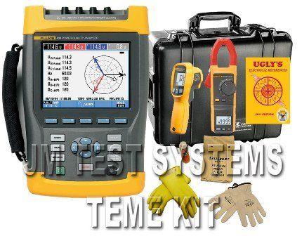 Fluke Teme Kit 435 Ii Power Quality Analyzer Sales Rent Calibration Repair At Jm