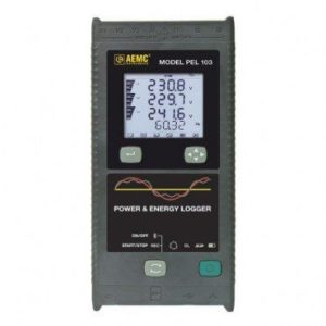 AEMC PEL 103 Power & Energy Logger (with display)