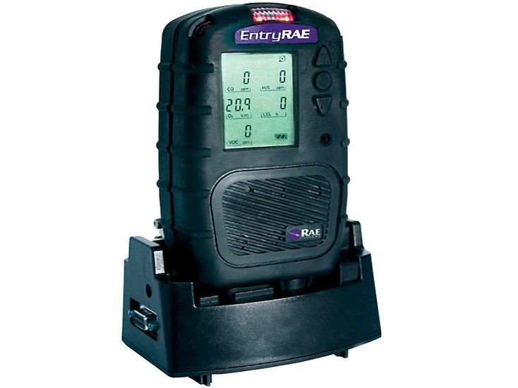 RAE Systems EntryRAE 4-gas Monitor and Photoionization Detector
