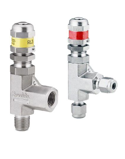Ss-rl3m4-s4 Swagelok Stainless Low Pressure Proportional Relief Valve 14 for sale online