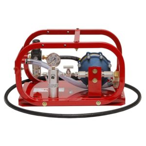 Rice HP10 Pneumatic Hydrostatic Test Pump with pressures up to 10,000 PSI