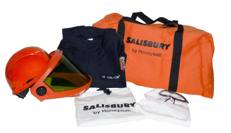 fdf4488e5839 Salisbury SKCA8 8 Cal Rating Arc FlashProtection Premium Coverall Kits