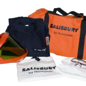Salisbury SKCA11 10 Cal Rating Arc Flash Protection Premium Coverall Kits