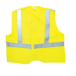 Salisbury HVVUS-Y 5 Cal Rating Arc Flash and Flame Resistant HI- Vis Vest