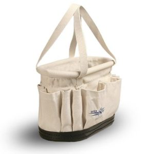 Estex 1815-14 Canvas Splicer Bucket with Pockets