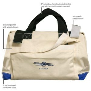 Estex  2160-GP Canvas Tool Bag with Pockets