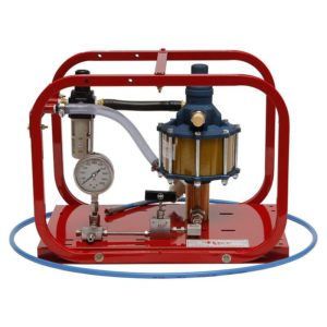 Rice Hydro HP-20 Pneumatic Hydrostatic Test Pump with pressures up to 20,000 psi