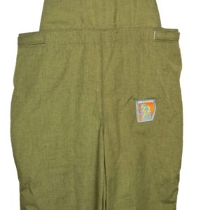 Salisbury by Honeywell ACB4030PLT2XL Arc Flash Protection Bib Overalls Premium Lightweight Green