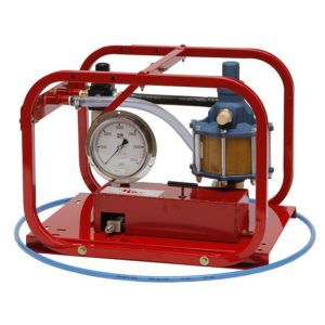 Rice Hydro HP-30 Pneumatic Hydrostatic Test Pump with pressures up to 30,000