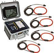 AEMC 8435 w/AmpFlex Three-Phase Power Quality Analyzer