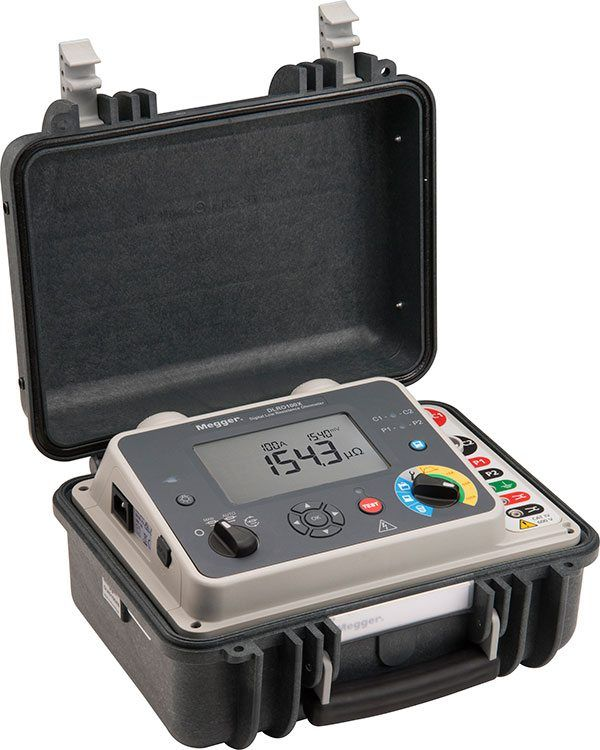 Megger DLRO100E 100 A Highly Portable Micro-ohmnneter with DualGround Safety