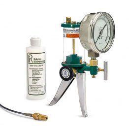 Ralston HPGV-1KPSIG-M Hydraulic Hand Pump and 1000 psi Gauge
