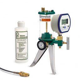 Ralston HPGV-3KPSIG-D Hydraulic hand pump and 3000 psi Gauge