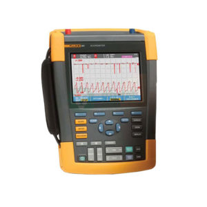Fluke Scopemeter 190 Series II. Some style models are available for rent.