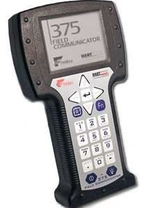 Emerson 375 Hart Field Communicator w/o Approval, Power Supply/Recharher, & EASY UPGRADE