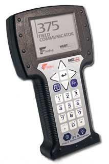 Emerson 375 Hart Fieldbus Communicator w/ Spare Battery