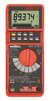 AEMC MX57EX TRMS Intrinsically Safe Digital Multimeters