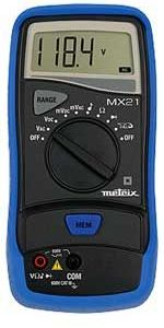 AEMC MX21 2000-Count Digital Multimeter