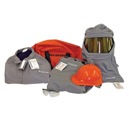 276b26ee9c88 40 cal cm2 Arc Flash Suit Kit - Salisbury PRO-WEAR® SK40