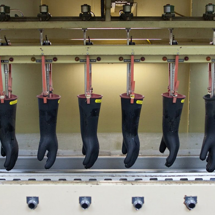 High Voltage Electrical Testers : High voltage glove testing quote sales rent