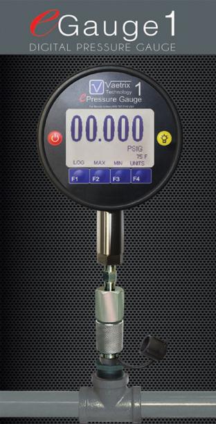 Vaetrix eGauge 1 Digital Pressure Gauge
