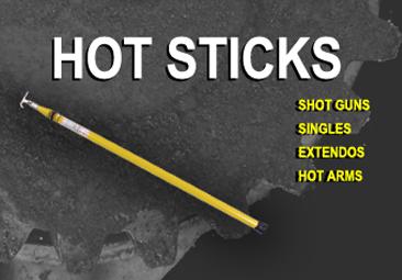 Fiberglass Hot Stick Tool Repair