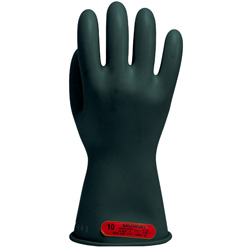 Class 0 Electrical Insulated Rubber Gloves Max Use Voltage 1,000 AC / 1,500 DC