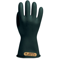 Class 00 Electrical Insulated Rubber Gloves Max Use Voltage 500AC / 750 DC